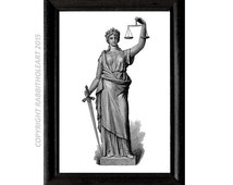 lady justice wall art - photo #25