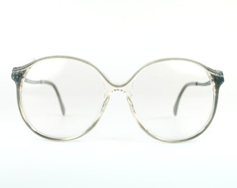 Round Oversize Sun/eyeglasses 1970s Retro Circular Gray Modern Women RX Sunglasses Indie Boho Chic