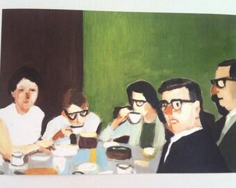 Cup of tea / Print -fine art paper