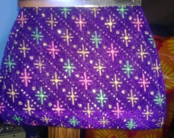 """SALE  Fits American Girl or 18 Inch Doll Purple Bedazzled Purse  HUGE SALE Clearance """"C1"""""""