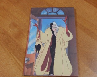 Up cycled Note Pad Disney 101 Dalmations