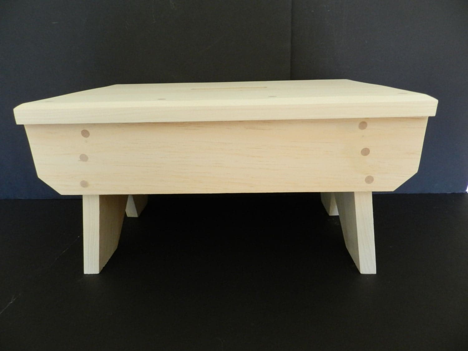 handmade wood step stool kitchen stool by snowycreekdesigns