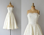 Aria wedding dress | 1950s wedding dress • vintage 50s lace wedding