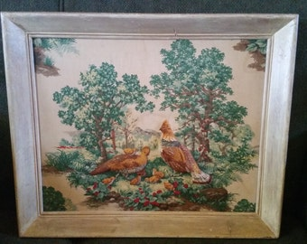 Quilted Picture - Pheasants