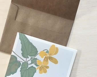 Yellow Violet 5 Card Pack