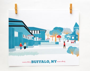 buffalo ny, buffalo, ny, buffalo ny art, darwin martin house buffalo ny, buffalo ny art print, frank lloyd wright buffalo usa, buffalo