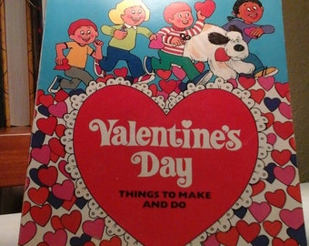 Vintage Valentines Day Decor and Activities