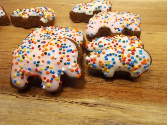Organic Dog Treats - Circus Cookies - Gourmet Dog Treats Organic All Natural Vegetarian Dog Treats - Shorty's Gourmet Treats