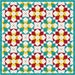 Crown Jewels Foundation Piece Quilt Block PDF Pattern