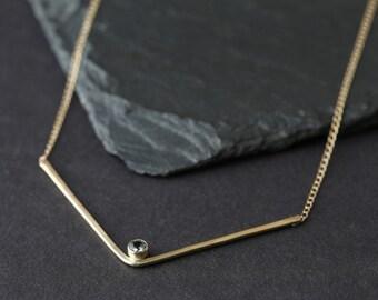 Peak Necklace- Sapphire