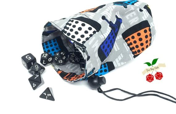 dalek bag of holding dice bag dice holder d d embroidered