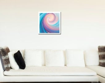 Sacred Oneness - wealth of motion for you - beautiful fine art (giclee) print of my original painting