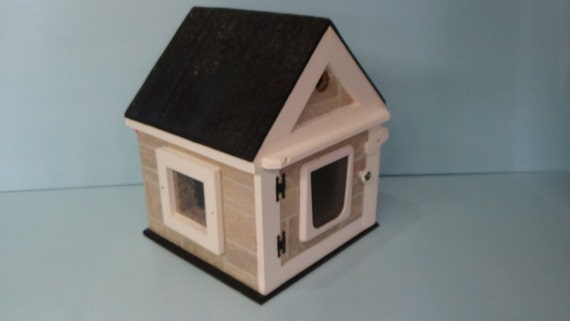 Heated Outdoor Stone Cat House(Ships Next Bus. Day),shelter,bed,condo,sanctuary