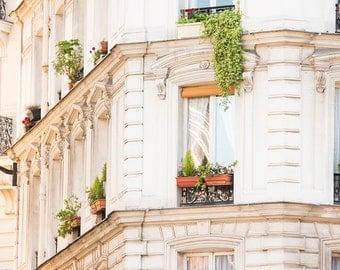 Paris Photography, Left Bank Light, Boulevard St Germain, Iron, Paris Wall Art, Summer in France, Rebecca Plotnick, Paris Window