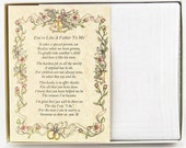 Personalized From the Bride to her Stepfather Wedding Handkerchief - BH127