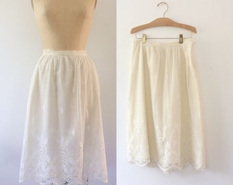 lace skirt / tatted lace skirt / Satterfield skirt