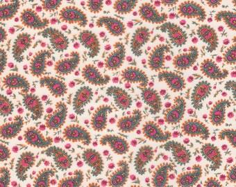 Liberty Fabric Rajvee B Tana Lawn One Yard Paisley Floral