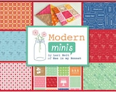 CHRISTMAS IN JULY Sale - Modern Minis - Fat Eighth Bundle (21) - Entire Collection - by Lori Holt for Riley Blake Designs