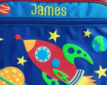 Personalized Stephen Joseph Space Lunchbox NEW