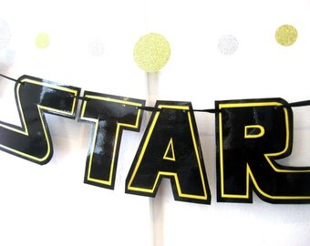 Star Wars Day Banner, May the 4th Banner, Star Wars Day Party Banner, May the Fourth Banner, May the Fourth Be With You, May the 4th Party