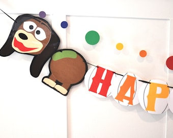 Toy Story BIRTHDAY Banner, Toy Story Party Supplies, HAPPY BIRTHDAY Banner, Toy Story Party Decor, Toy Story Birthday Party, Custom Banner