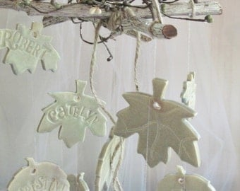 Custom Personalized Family Tree Wind Chime