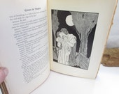 Vintage Book Illustrated Cyrano De Bergerac Rostand Illustrated by Nino Carbe Three Sirens Press 1931