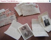 ON SALE Miniature WWII Love Letters