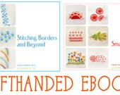 2 Embroidery Ebooks PDF - LEFT HANDED