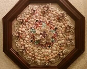 """A Sailor's Valentine """"Victorian Flower Garden"""""""