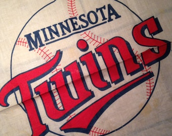 Minnesota Twins Handkerchief or Bandana