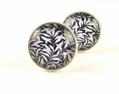 Groomsman Cuff Links - William Morris Cufflinks - Gifts For Men - Anniversary Gift - Handmade - Wedding Gift - Wedding Favors Cuff Links