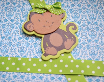 Lime Monkey Bowholder
