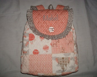 Child's Backpack in Story Book by Moda fabrics