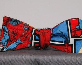 Multi Spider-Man Bow Tie