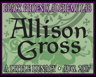 Allison Gross 2007 - 5ml - Black Phoenix Alchemy Lab