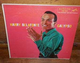 Harry Belafonte Calypso Vintage Vinyl Record