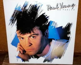 Paul Young No Parlez Vintage Vinyl Record
