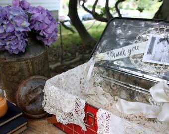 Rustic Wedding - Country Wedding Card Box - Picnic Basket - Wedding Envelope Holder