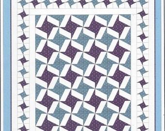 Sale!  Pinwheel Parade quilt pattern ( PPZZR) - The Cotton Cottage Press