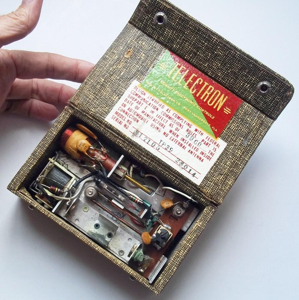 Telectron Vintage Garage Door Opener Radio Transmitter For