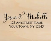 Self Inking Personalized Return Address Stamp - Custom Rubber Stamp R264