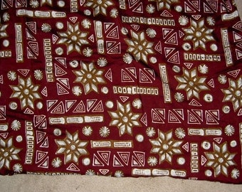 Vintage Cloth Fabric Material - Tandler Textile Pattern 1941-11W (Copyright 1992)