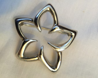 REDUCED Tiffany & Company Plumeria Pin