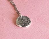 Fingerprint Jewelry - Charm only