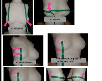 The Metal Bra Sizing Guidelines Charts