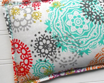 Microwavable Heating Pad and Ice Packs, Flax Seed Warm Compress and Cold Compress, Multiple Sizes - Pretty Paint Splat
