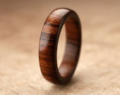Custom Tamboti Wood Ring - 5mm
