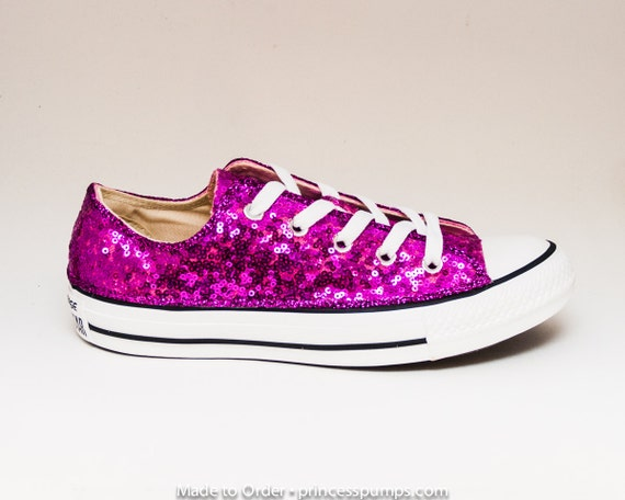Fuchsia Converse Shoes