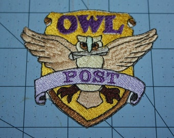 Harry Potter Owl iron on patch